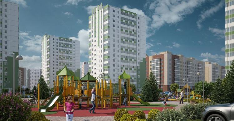 ЖК Апрелевка в Красноярске